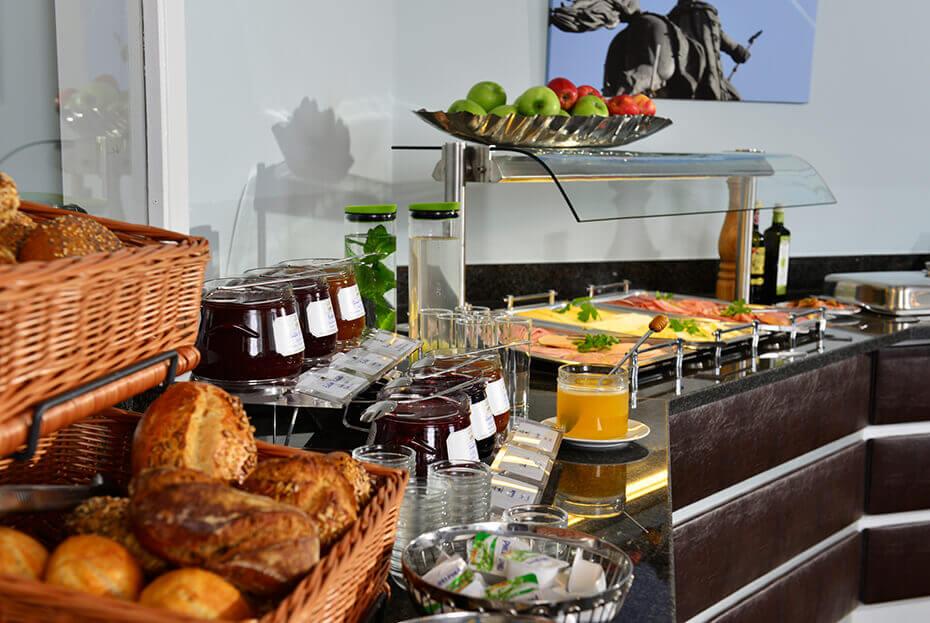 Frühstück Hotel UHU