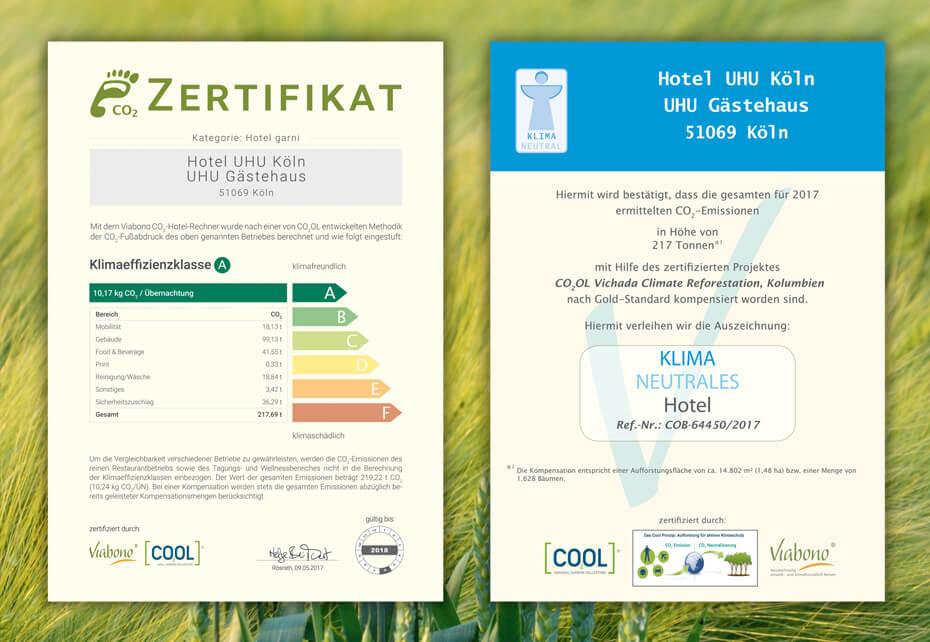 Zertifikate-Nachhaltigkeit-Hotel-UHU