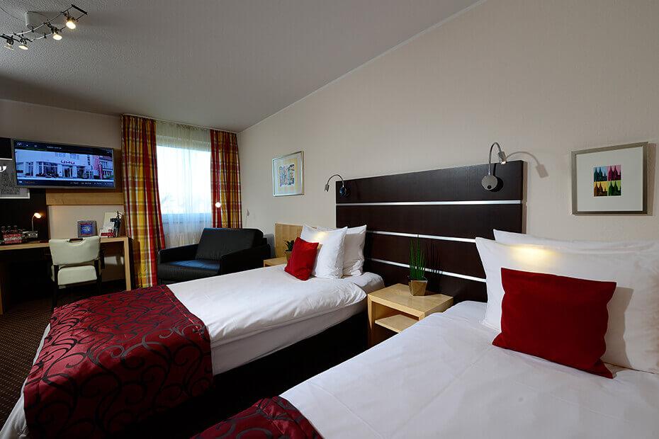 Komfort Zimmer Hotel UHU Köln