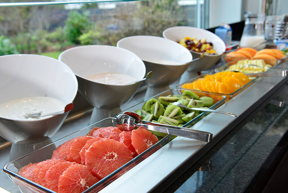 Frühstück im Hotel UHU Köln