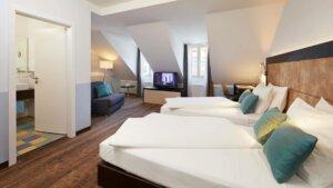 Zimmer Cologne Garni Mediterana Gästehaus