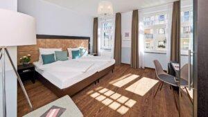 Gästehaus Hotelzimmer Cologne Garni Mediterana